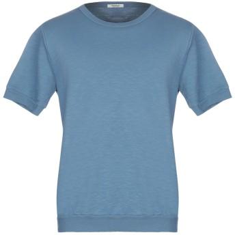 《期間限定セール開催中!》CROSSLEY メンズ スウェットシャツ ブルーグレー XL コットン 100%