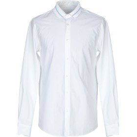 《期間限定 セール開催中》ONTOUR メンズ シャツ ホワイト S コットン 100%