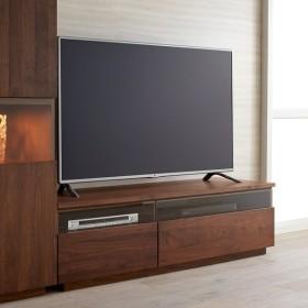 ウォルナット天然木テレビ台 幅150cm H58721