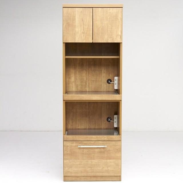 Cretty/クレッティ ステンレススライドテーブル ナチュラルモダンキッチン収納 レンジ台ハイ H57604