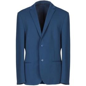 《期間限定セール開催中!》DANIELE ALESSANDRINI メンズ テーラードジャケット ダークブルー 48 ポリエステル 95% / ポリウレタン 5%