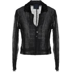 《期間限定 セール開催中》ASPESI レディース テーラードジャケット ブラック 40 ナイロン 61% / シルク 39%