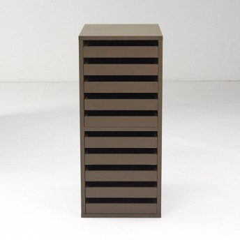 Porta(ポルタ) 多目的収納シリーズ 10段トレーチェスト H42521