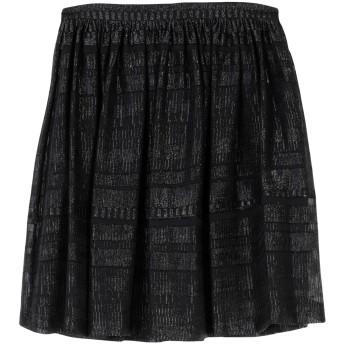《セール開催中》L' AUTRE CHOSE レディース ひざ丈スカート ブラック 42 ポリエステル 100%