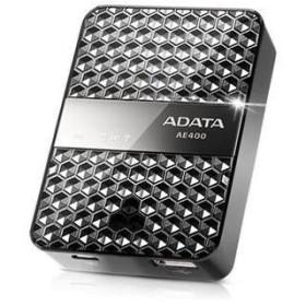 エーデータ ワイヤレスストレージリーダー&パワーバンク AAE400-CBKSV (1コ)