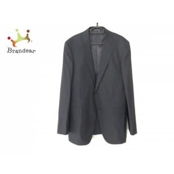 グリーンレーベルリラクシング ジャケット サイズ52 メンズ 美品 ダークネイビー×グレー 値下げ 20190912