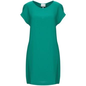 《セール開催中》GOTHA レディース ミニワンピース&ドレス グリーン 2 レーヨン 96% / ポリウレタン 4%
