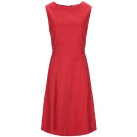 《セール開催中》ANNA RACHELE レディース ミニワンピース&ドレス レッド 44 コットン 97% / ポリウレタン 3%