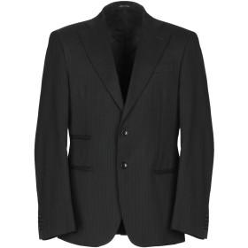 《期間限定 セール開催中》DANIELE ALESSANDRINI メンズ テーラードジャケット ブラック 50 ウール 37% / ポリエステル 30% / レーヨン 30% / ポリウレタン 3%