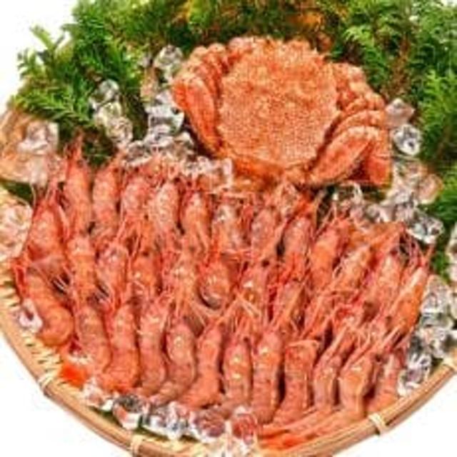 毛ガニ・牡丹えびセット約1kg