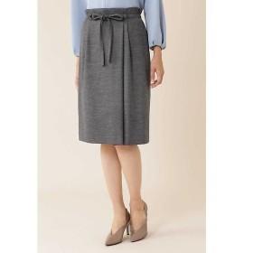 NATURAL BEAUTY / ナチュラルビューティー ◆ウールジャージセットアップスカート