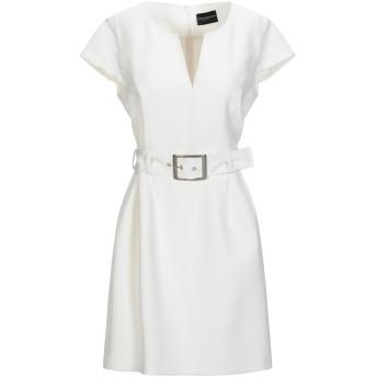 《9/20まで! 限定セール開催中》ATOS LOMBARDINI レディース ミニワンピース&ドレス ホワイト 42 ナイロン 88% / ポリウレタン 12% / ポリエステル