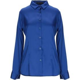 《セール開催中》FRANKIE MORELLO レディース シャツ ブルー XS レーヨン 95% / ポリウレタン 5%