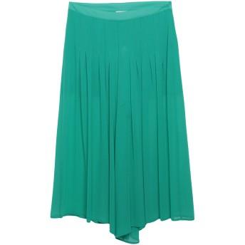 《セール開催中》REVISE レディース 7分丈スカート グリーン 42 ポリエステル 100%