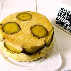 さつま芋入りわんこチーズケーキ