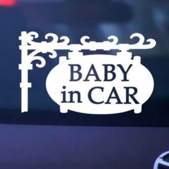 ベビーインカー/BABY IN CAR プレート