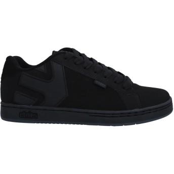 《セール開催中》ETNIES メンズ スニーカー&テニスシューズ(ローカット) ブラック 5 革 / 紡績繊維