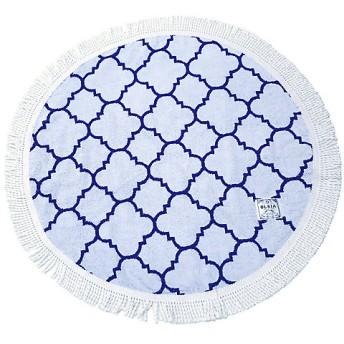 <OLSIA/オルシア> Round & Round Round towel chibiサイズ ブルー 【三越・伊勢丹/公式】