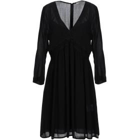 《セール開催中》RUE8ISQUIT レディース ミニワンピース&ドレス ブラック 42 レーヨン 100%