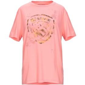 《期間限定セール開催中!》BLAUER レディース T シャツ サーモンピンク L コットン 100%