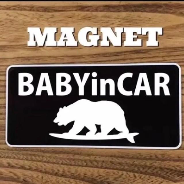 ベビーインカー カリフォルニア 赤ちゃん マグネット