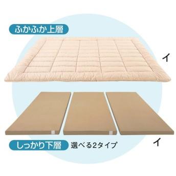 レギュラータイプ 下層(セミシングル)1人用・追加用(コンパクト&ワイド敷布団) 707113
