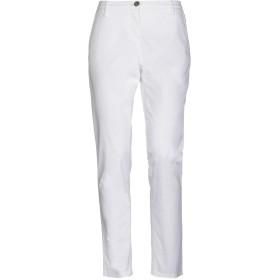《セール開催中》NICWAVE レディース パンツ ホワイト 40 コットン 98% / ポリウレタン 2%