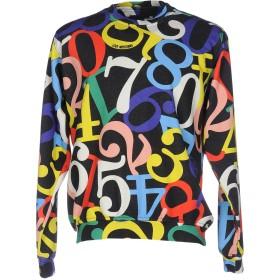 《期間限定セール開催中!》LOVE MOSCHINO メンズ スウェットシャツ ブラック M コットン 87% / ポリエステル 13%