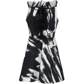 《セール開催中》BROGNANO レディース ミニワンピース&ドレス ブラック 42 コットン 100% / ポリエステル