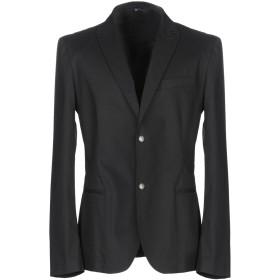 《期間限定セール開催中!》DANIELE ALESSANDRINI メンズ テーラードジャケット ブラック 46 コットン 97% / ポリウレタン 3%