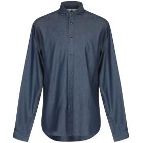 《9/20まで! 限定セール開催中》MACCHIA J メンズ デニムシャツ ブルー 41 コットン 100%