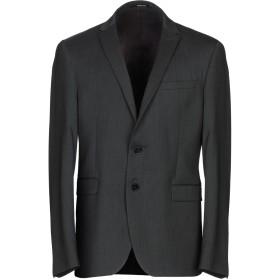 《セール開催中》PAOLONI メンズ テーラードジャケット スチールグレー 52 バージンウール 97% / ポリウレタン 3%