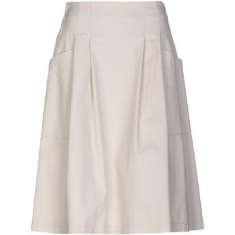 《セール開催中》PESERICO SIGN レディース ひざ丈スカート アイボリー 42 コットン 98% / ポリウレタン 2%