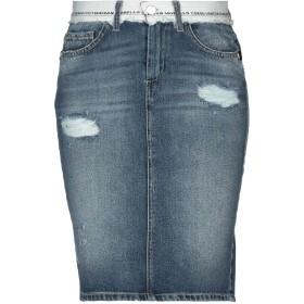 《9/20まで! 限定セール開催中》FRANKIE MORELLO レディース デニムスカート ブルー 40 コットン 100%