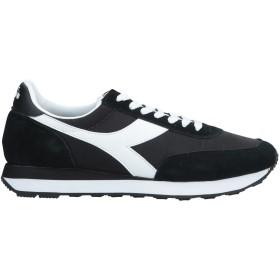 《期間限定 セール開催中》DIADORA メンズ スニーカー&テニスシューズ(ローカット) ブラック 6.5 革 / 紡績繊維