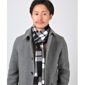 【61%OFF】 シップス SHIPS Days: MADE IN JAPAN ウール マフラー メンズ ブラック ONE SIZE 【SHIPS】 【タイムセール開催中】