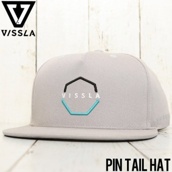 VISSLA ヴィスラ PIN TAIL HAT SNAPBACK CAP スナップバックキャップ MAHTGPIN LTG