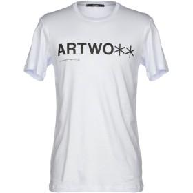 《期間限定 セール開催中》TAKESHY KUROSAWA メンズ T シャツ ホワイト XL コットン 100%