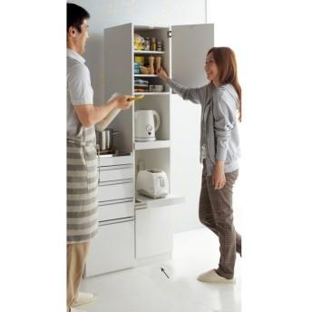 組立不要 幅と高さが選べる家電収納庫 ハイタイプ 幅35cm・奥行45cm 672107
