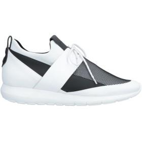 《送料無料》ALEXANDER SMITH メンズ スニーカー&テニスシューズ(ローカット) ホワイト 45 革 / 紡績繊維