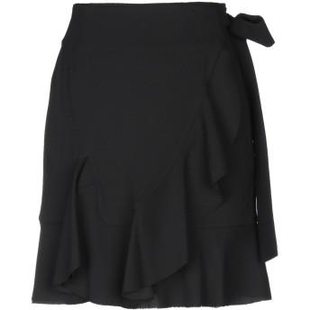 《セール開催中》GOEN.J レディース ひざ丈スカート ブラック L ポリエステル 100%