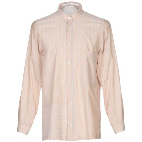 《期間限定セール開催中!》CHOICE NICOLA PELINGA メンズ シャツ サンド M コットン 100%