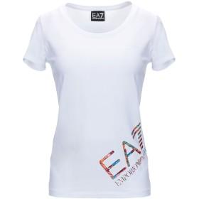 《セール開催中》EA7 レディース T シャツ ホワイト XS コットン 95% / ポリウレタン 5%