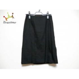 ルシェルブルー LE CIEL BLEU スカート サイズ36 S レディース 黒          値下げ 20191014