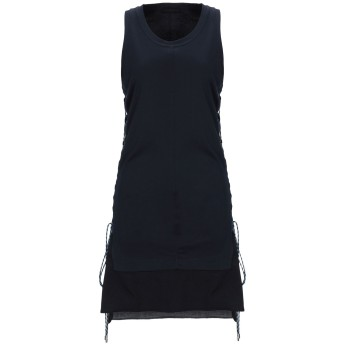 《9/20まで! 限定セール開催中》DIESEL BLACK GOLD レディース ミニワンピース&ドレス ダークブルー XS コットン 100% / ポリエステル