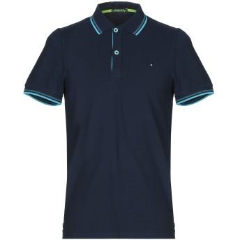 《期間限定セール開催中!》SHOCKLY メンズ ポロシャツ ダークブルー S 95% コットン 5% ポリウレタン