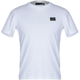 《セール開催中》LOVE MOSCHINO メンズ T シャツ ホワイト M コットン 95% / ポリウレタン 5%