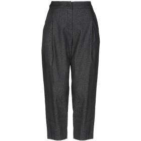 《セール開催中》OLLA PARG レディース パンツ ブラック 40 コットン 75% / ナイロン 20% / ポリウレタン 5%