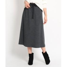 Dessin / デッサン ウール100圧縮ジャージスカート