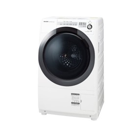 SHARP ES-S7C-WL ホワイト系 [ななめ型ドラム式洗濯乾燥機(洗濯7.0kg/乾燥3.5kg)左開き] 洗濯機